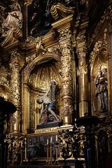 San Sebastian Altar Palma Cathedral (John Wilder Photography) Tags: artefact architecture altar palmademallorca cathedral gold golden