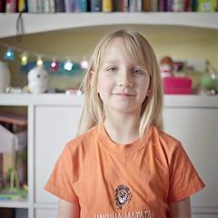 Katherine, June 2019 (Paul of Congleton) Tags: katherine katie girl child daughter portrait hasselblad 500cm mediumformat 120 6x6 kodak portra film