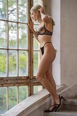 Tania (juergenberlin) Tags: dessous lingerie boudoir sexy woman beauty girls high heels legs lost place