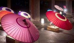 Japanese umbrella (walkkyoto) Tags: 灯り light 天橋立 amanohashidate 智恩寺 temple 京都 kyoto 日本 japan nokton50mmf15l