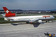 McDonnell Douglas MD-11 HB-IWS Swissair (Andries Waardenburg) Tags: md11 hbiws zrh lszh