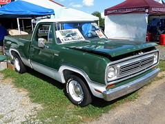 1972 Dodge D-100 Adventurer (splattergraphics) Tags: 1972 dodge d100 adventurer pickup truck sweptline mopar carshow carlisle carlislechryslernationals carlislepa