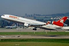 McDonnell Douglas MD-11 HB-IWN Swiss (Andries Waardenburg) Tags: md11 hbiwn zrh lszh