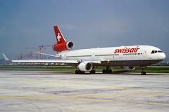 McDonnell Douglas MD-11 HB-IWU Swissair (Andries Waardenburg) Tags: md11 hbiwu zrh lszh