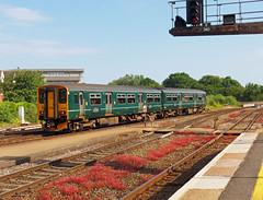 150261 Exeter St Davids (Marky7890) Tags: gwr 150261 class150 sprinter 2t24 exeterstdavids railway devon devonmainline train