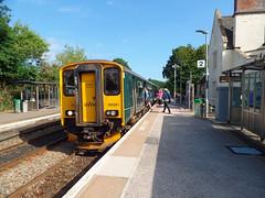 150261 Topsham (Marky7890) Tags: gwr 150261 class150 sprinter 2t24 topsham railway devon avocetline train