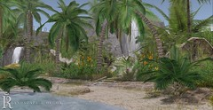 ♛ Client; Alva - Homestead 01 (Royalty∆) Tags: skye heart second life home slhome slhomes photography landscape decor tropical beach waterfalls fundati were closed kidd slphotography