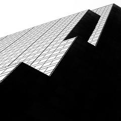 Diagonal Shadow Abstract (2n2907) Tags: abstract architecture shadow windows skyscraper graphic building blackwhite high contrast diagonal perspective sky