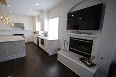 White #cabinetry #KitchenRemodel with #woodfloor #fireplace in San juan capistrano #OrangeCounty https://www.aplushomeimprovements.com/portfolio_page/147-design-build-transitional-kitchen-and-bar-remodel-with-custom-white-cabinets-in-san-juan-capistrano/ (Aplus Interior Design & Remodeling) Tags: kitchenremodel kitchen kitchenisland kitchenrenovation kitchencabinets kitchenandbath wood woodflooring whitecabinets woodcabinets woodfloor woodfloors fireplace fireplaceremodel