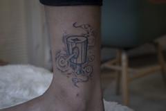 New York Fatcap tattoo (Stevevvvlieten) Tags: tattoo graffiti newyork fatcap spraypaint caps