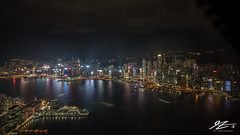 I'm There (TVZ Photography) Tags: kowloon tsimshatsui hongkongisland river water harbour reflection city cityscape landscape night evening longexposure lowlight sonya7riii zeiss loxia 21mm