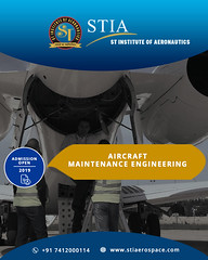Top Aircraft Maintenance Engineering College in Rajasthan (St Institute Of Aernuatics) Tags: aircraft airworthy airlines airport aeronautics aviation
