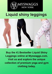 Bootylicious Leggings (myswaggsonline) Tags: liquid shiny leggings chic athleisure outfits