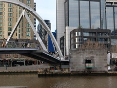 Ponyfish Island and Yarra River water levels back to normal after the rains (avlxyz) Tags: