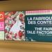 Affiche exposition La fabrique des contes au MEG