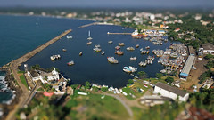 Beruwala 02 (mpetr1960) Tags: beruwala srilanka port sea seaview seascape ship tiltshift toy mosque water drone mavic aerial