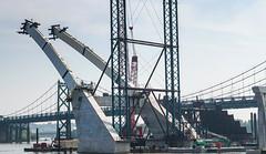 Iowa Side (114berg) Tags: 13july19 construction new interstate 74 bridge mississippi river quad cities illinois iowa
