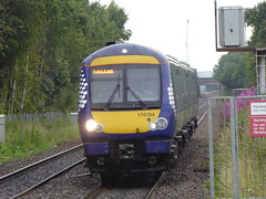 170394 arrives at South Gyle (17/7/19) (*ECMLexpress*) Tags: abellio scotrail class 170 turbostar dmu 170394 south gyle station