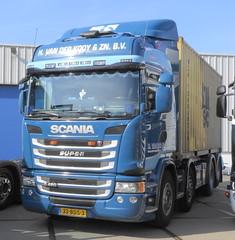 Scania G450HL Van der Kooy, Rotterdam (rommelbouwer) Tags: scania g450 vanderkooy