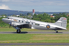 "JM Air LLC (Civil Air Transport) Douglas DC-3A N8336C ""The Spirit of Benovia"" WIE 13-06-19 (Axel J.) Tags: jmairllc civilairtransport douglas dc3 n8336c thespiritofbenovia wie wiesbadenarmyairfield erbenheim luftfahrt fluggesellschaft flughafen flugplatz flugzeug aircraft aeroplane aviation airline airport airfield 飞机 vliegtuig 飛機 飛行機 비행기 авиация самолет תְעוּפָה hàngkhông avion luchtvaart luchthaven avião aeropuerto aviación aviação aviones jet linienflugzeug vorfeld apron taxiway rollweg runway startbahn landebahn outdoor planespotter planespotting spotter spotting fracht freight cargo classic propliner prop"