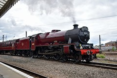 45699 (Chris Strange) Tags: mainline steam railtour heritage railway train york lms galatea scarborough