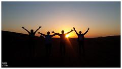 Dubai Desart Safari - Sunset (Mahesh Babu (Great Maba)) Tags: gulf countries