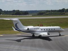 G-ULFM Gulfstream G450 (Pendley Aviation Ltd) (Aircaft @ Gloucestershire Airport By James) Tags: luton airport gulfm gulfstream g450 pendley aviation ltd bizjet eggw james lloyds