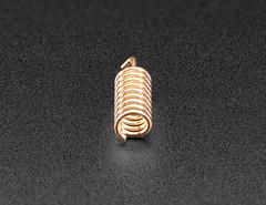 Simple Spring Antenna - 915MHz (adafruit) Tags: 4269 antenna springantenna 915mhz accessories electronics diy addons adafruit diyelectronics diyprojects projects copperspring