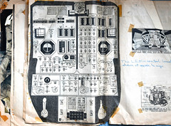 How to fly the L.E.M (robmcrorie) Tags: flight deck controls lunar module apollo space moon mission 50 years anniversary scrap book