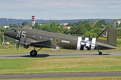"Mission Boston D-Day LLC Douglas C-47 (DC-3C) N62CC (330647) ""Virginia Ann"" WIE 13-06-19 (Axel J.) Tags: missionbostonddayllc douglas c47 dc3 n62cc 330647 virginiaann wie wiesbadenarmyairfield erbenheim luftfahrt fluggesellschaft flughafen flugplatz flugzeug aircraft aeroplane aviation airline airport airfield 飞机 vliegtuig 飛機 飛行機 비행기 авиация самолет תְעוּפָה hàngkhông avion luchtvaart luchthaven avião aeropuerto aviación aviação aviones jet linienflugzeug vorfeld apron taxiway rollweg runway startbahn landebahn outdoor planespotter planespotting spotter spotting fracht freight cargo classic propliner prop"