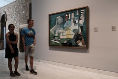 At the Picasso Museum Barcelona (Bury Gardener) Tags: barcelona spain catalonia europe 2019 streetphotography street streetcandids snaps strangers candid candids people peoplewatching folks museum