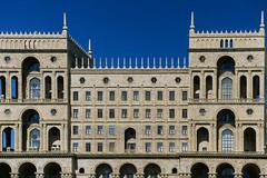 Azerbaijan Presidential Palace (Packing-Light) Tags: 35mm azerbaijan baku caucasus eurasia nikonf6 analog emulsion film kodak ektachrome100 e100 chrome slidefilm transparency city landscape