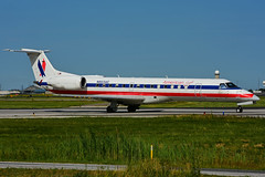N803AE (American Eagle - Envoy Air) (Steelhead 2010) Tags: americanairlines americaneagle envoyair embraer erj erj140 yyz nreg n803ae