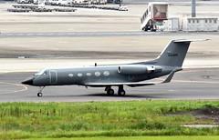Phoenix Air, N163PA, Gulfstream III at HND (tokyo70) Tags: japan travel tour tokyo phoenixair gulfstream iii