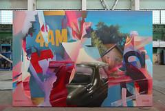 """4AM"" (SERGEY AKRAMOV) Tags: сергейакрамов aerosol sergeyakramov paint postgraffiti painting art artwork fineart sprayart graffiti graffuturism spray spraypaint streetart acrylic acryl"
