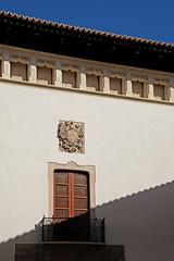 Siesta (John Wilder Photography) Tags: urban architecture siesta palmademallorca spain sunlight shadow windows doors balconies blue sky fuji xe3 xf1855mm