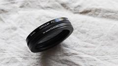 CIRCULAR-PL filter with Compatible Canon FA-DC58C. (MIKI Yoshihito. (#mikiyoshihito)) Tags: powershot g1x canon camera circularpl filter plフィルター fadc58c