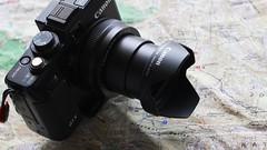 Canon PowerShot G1X + Lens Hood LH-DC70. (MIKI Yoshihito. (#mikiyoshihito)) Tags: powershot g1x canon camera lenshood lhdc70