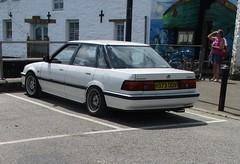 1990 Honda Concerto (occama) Tags: h373ddv 1990 honda concerto old car cornwall uk japanese white modified bangernomics