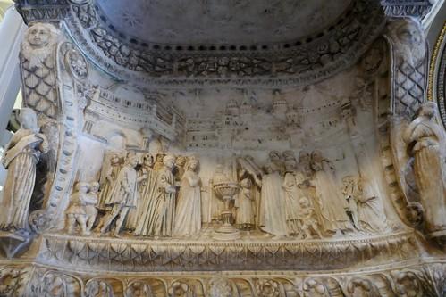 "Bénitier XVe, Domenico Gagini (1449-1492), cathédrale Santa Vergine Maria Assunta (XIIe-XVe-XVIIIe), Palerme, Sicile, Italie. • <a style=""font-size:0.8em;"" href=""http://www.flickr.com/photos/50879678@N03/48315184151/"" target=""_blank"">View on Flickr</a>"