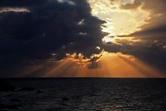 Sunset over the Moray Firth (Troonafish) Tags: scotland scottish gavintroon gavtroon 2019 canon canon5d2 canon5dii canon5dmark2 canon5dmarkii 5d2 5dii 5dmark2 5dmarkii clouds cloud sun sunlight landscape landscapephotography landscapes scenery scottishlandscape scottishscenery scottishcountryside countryside thegreatoutdoors view bestview naturalbeauty natural morayfirth sunset sunsets sunsetoverwater sunsetoversea moray moraycoast morayshire portknockie orangesky orange sea seascape seascapephotography evening eveninglight