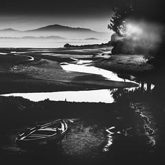 Xobre (Noel F.) Tags: sony a7rii a7r ii fe 24105 xobre pobra caramiñal barbanza galiza galicia praia beach mencer sunrise fog mist neboa