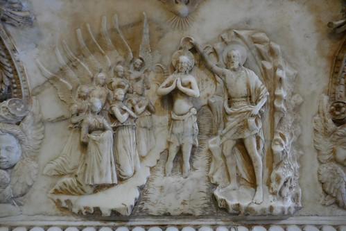 "Bénitier XVe, Domenico Gagini (1449-1492), cathédrale Santa Vergine Maria Assunta (XIIe-XVe-XVIIIe), Palerme, Sicile, Italie. • <a style=""font-size:0.8em;"" href=""http://www.flickr.com/photos/50879678@N03/48315315027/"" target=""_blank"">View on Flickr</a>"