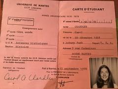 1983-84 Nantes Student Photos (Franck Merlant) (IES Abroad Alumni) Tags: studentphotos studyabroad 1978 197879 1979 alumni nante nantes
