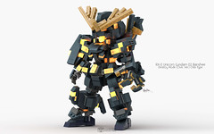 RX-0 Unicorn Gundam 02 Banshee Destroy Mode, OVA. Ver. Chibi Type Pose 01 (clmntin.E) Tags: gundam mecha mech rx0 unicorn phenex banshee full armor destroy mode narrative chibi lego moc military afol creations norn psycho frame