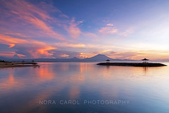 Sanur Sunrise (Nora Carol) Tags: bali beach beautyinnature cloudsky cloudscape coastline copyspace dramaticsky environment happiness horizonoverwater horizontal idyllic indianocean indonesia island landscapescenery lightnaturalphenomenon majestic morning mountain mtagung nature newlife nopeople outdoors photography reflection relaxation romanticsky sand sanur scenicsnature sea seascape silence sky summer sun sunlight sunrisedawn tourism tranquilscene tranquility travel traveldestinations tropicalclimate vacations volcano wavewater zenlike