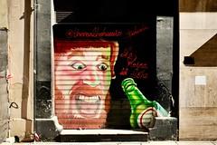 Street art Malaga Spain (oldnikonian) Tags: graffiti fuji fujifilm streetart spain malaga fujix100f