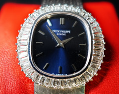 Patek Phillipe (jblamire4) Tags: patek phillipe 18 carat white gold diamond bezel blue dial manual movement mechanical luxury timepiece finest quality