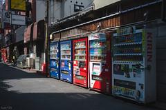 街 (fumi*23) Tags: ilce7rm3 sony street vendingmachine kyobashi osaka japan sel35f28z sonnar sonnartfe35mmf28za a7r3 alley 路地 自販機 大阪 京橋 emount 35mm