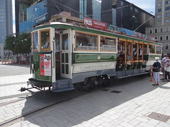 DSC01381 (markgeneva) Tags: christchurch tram tramway vintagetrams newzealand nz neuseeland southisland nzsouthisland nouvellezélande